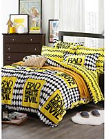Hot sale Print Bedlinen Fleece winter bedding set queen king size soft bedsheet pillowcase Duvet cover 4pcs bed set