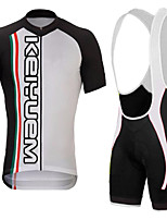 KEIYUEM®Summer Cycling Jersey Short Sleeves + BIB Shorts Ropa Ciclismo Cycling Clothing Suits #K137