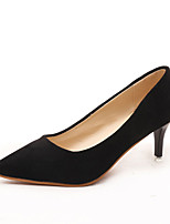 Women's Heels Spring / Summer / Fall Heels Suede Casual Stiletto Heel Others Black / Pink / Gray / Light Green Walking