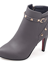 Women's Boots Fall / Winter Fashion Boots / Pointed Toe Party & Evening / Dress / Casual Stiletto Heel Rivet / Zipper