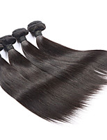 4 Pieces Straight Human Hair Weaves Brazilian Texture Human Hair Weaves Straight