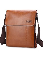 Men PU Casual Shoulder Bag