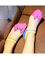 Women Medium Socks,Cotton