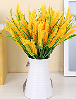 Hi-Q 1Pc Decorative Flower Ear of Wheat Wedding Home Table Decoration Artificial Flowers