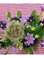 Jüte Hochzeits-Dekorationen-1piece / Set Künstliche Blumen Hochzeit / Geburtstag / Verlobung Garten Thema Braun FrühlingNicht