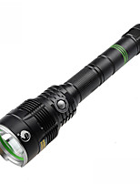 U`King® LED Flashlights/Torch LED 3H (depending on the battery capacity calculation) Lumens 5 Mode - / Cree XM-L2 18650Dimmable / Compact