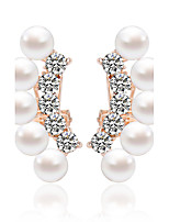 Alloy/Imitation Pearl  Earring  Stud Earrings Wedding/Party/Daily / Casual 1 pair