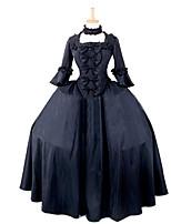 Steampunk®Women's Elegant Gothic Dress Costume Women Black Halloween Costume