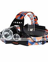 Fascia per torcia in testa LED 4.0 Modo 9000LM Lumens Ricaricabile / Compatta Cree XM-L T6 18650Campeggio/Escursionismo/Speleologia /
