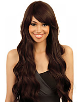 Brown Color Cosplay Synthetic Wigs Cheap Wave Wigs For Black Women Wigs
