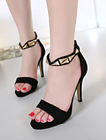 Women's Sandals Summer Sandals / Open Toe PU Dress Stiletto Heel Others Black / Gold Others