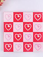 100% virgin pulp 20pcs Heart Wedding Napkins