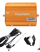 GSM980 900MHz Cell Mobile Phone Signal Amplifier Booster Repeater + Antenna Gold