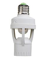 capteur ir interrupteur pir mouvement de capteur auto-éclairage support de lampe infrarouge pour lampes e27 et led (100-240V)