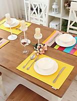 100% Coton Rectangulaire Sets de table
