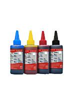 л.с. совместимые чернила Canon 100 мл, пачка 4boxes, каждая коробка разные цвета, черный, красный, желтый, синий