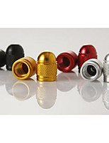 Bullet Head Colorful Aluminum Alloy Valve Cap, Motorcycle Valve Cover