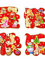 (Pattern Random) Christmas Window Sticker Contemporary , Art Deco 40*40cm