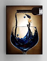 Hand Painted Oil Painting Cocktail Beauty Restaurant Bar Wall Art Decoration with Stretched Framed