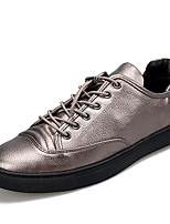 Men's Flats Spring / Summer / Fall / Winter Flats PU Office & Career / Party & Evening / Casual Flat Heel Lace-up