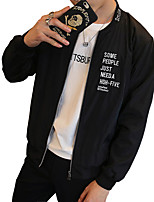 The new young men's moral codes in autumn tide all-match leisure jacket middle-aged thin coat jacket male tide