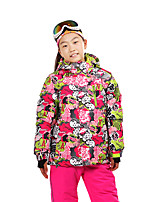 Sports Ski Wear Ski/Snowboard Jackets / Tops Kid's Winter Wear Classic Winter Clothing Thermal / WarmSkiing / Camping / Hiking / Downhill