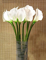 1PC  Household Artificial Flowers Sitting Room Adornment    Calla  Lily   Artificial   Flowers