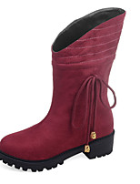 Women's Shoes Fall / Winter Platform / Fashion Boots Boots Outdoor / Office & Career / Casual Chunky HeelOthers /