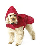 2016 Summer Waterproof XS-3XL Large Dog Raincoat Portable Red Blue BlackCarrible Raincoat for Pets Dog Clothes
