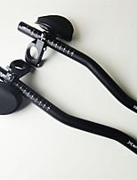 Ультралегкий (UL) / Прочный-Руль(Черный,Алюминий 6061)-Горный велосипед 1