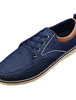 Men's Flats Spring / Summer / Fall / Winter Comfort Fabric Casual Flat Heel Others Black / Blue / Gray Others