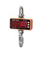 Digital Display Electronic Hook Scale(Weighing Range: 100KG-1000KG,Orange)