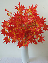 Hi-Q 1Pc Decorative Flower Maple Leaf Wedding Home Table Decoration Artificial Flowers