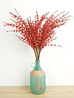 Hi-Q 1Pc Decorative Flowers Real Touch Winter Jasmine For Wedding Home Table Decoration Artificial Flowers