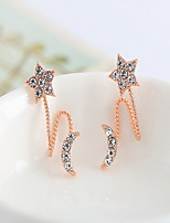 Earring Flower / Others Jewelry Women Fashion Daily / Casual Alloy 1 pair Gold / Silver