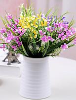 Hi-Q 1Pc Decorative Flower Gladiolus Flower Wedding Home Table Decoration Artificial Flowers