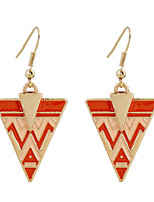 Fine Jewelry Fashion Charms Cute Triangular Zinc Alloy Earrings