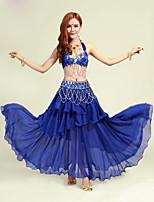 Accesorios(Fucsia / Morado / Rojo / Azul Rey / Amarillo,Poliéster,Danza del Vientre) -Danza del Vientre- paraMujer Lentejuelas