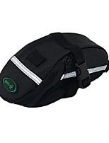 Bolsa para Bagageiro de BicicletaLista Reflectora / Vestível / Multifuncional / Suporte iPhone / Refletivo / Telefone / Camurça de Vaca á