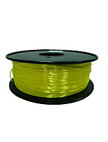 PLA полимера 3d расходных материалов для печати шелковые поставок желтый