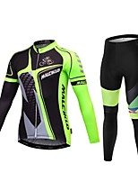 Sports Bike/Cycling Clothing Sets/Suits Men's Short SleeveBreathable / High Breathability (>15,001g) / Quick Dry