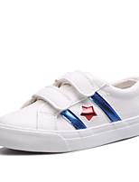 Mädchen-Flache Schuhe / Sneaker-Outddor / Lässig / Sportlich-PU-Flacher Absatz-Komfort / Rundeschuh / Flache Schuhe-Blau / Rot