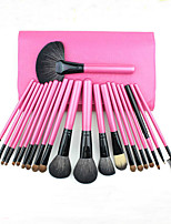 22Pcs Animal Hair Makeup Brushes Set