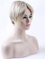 монолитным длинные прямые светлые бежевые синтетические волосы парики белой женщины парик костюм для ежедневного