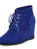 Women's Boots Spring / Fall / Winter Wedges / Fashion Boots Fleece Wedding / Outdoor / Party & Evening / Dress