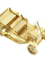 Пазлы 3D пазлы Строительные блоки DIY игрушки / 1 Металл Зеленый Игрушка новизны
