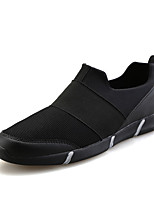 Men's Sneakers Spring / Fall Comfort Tulle Casual / Athletic Flat Heel Slip-on Black / Red / White Sneaker