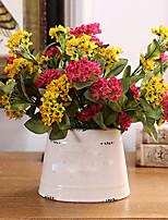Hi-Q 1Pc Decorative Flower Ferro Flowers Wedding Home Table Decoration Artificial Flowers