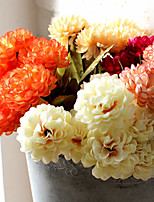 Hi-Q 1Pc Decorative Flower Chrysanthemum Wedding Home Table Decoration Artificial Flowers
