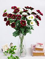 1 1 Филиал Полиэстер / Пластик Другое Букеты на стол Искусственные Цветы 31.4inch/80cm